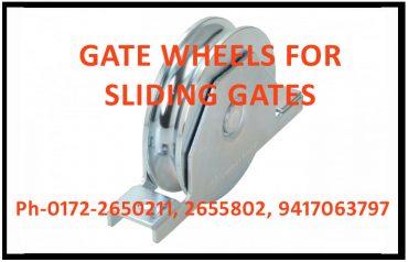 GATE WHEELS FOR SLIDING GATES