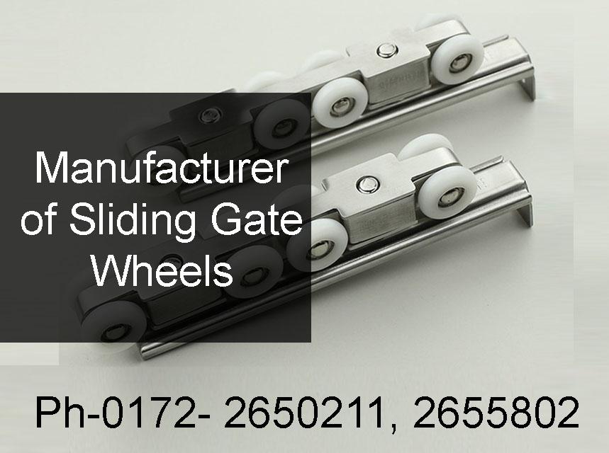 Manufacturer of Sliding Gate Wheels